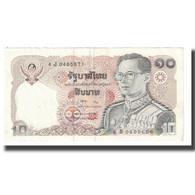 Billet, Thaïlande, 10 Baht, KM:98, TTB - Tailandia