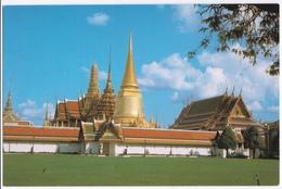 WAT PHRA KEO, (TEMPLE OF THE EMERALD BUDDHA) BANGKOK, THAILAND - Thailand