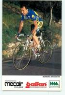 Moreno ARGENTIN . 2 Scans. Cyclisme. Mecair Ballan - Radsport