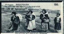 E 0448 - Mignonette   Publicité  N° 186    Chocolat  Suchard    Pologne    Paysannes  Se Rendant Au Marché - Poland