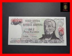 ARGENTINA 10 Pesos Argentinos 1984 P. 313 Serie B  UNC - Argentine