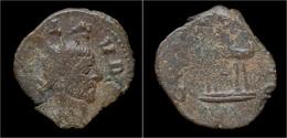 Barbaric Radiates Barbaric Antoninianus Of Claudius II Gothicus - 5. Der Soldatenkaiser (die Militärkrise) (235 / 284)