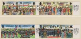 ALDERNEY AURIGNY 2000  GARRISON ISLAND 4  S.G. 154-161  U.M.  N.S.C. - Alderney