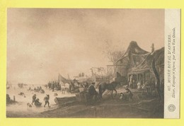 * Antwerpen - Anvers - Antwerp * (G. Hermans, Nr 467) Musée Royal D'Anvers, Hiver, Paysage Et Figures Isaac Van Ostade - Antwerpen