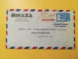 1961 BUSTA INTESTATA PANAMA BOLLO AIR MAIL ANNIVERSARY NATIONAL INSTITUTE ANNULLO OBLITERE' PANAMA - Panama