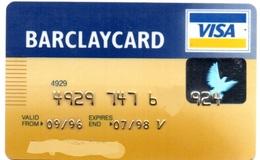 Bank Spain Credit Card BARCLAYCARD  Visa - Electron - Master Card - Tarjeta De Credito - Cartes De Crédit (expiration Min. 10 Ans)