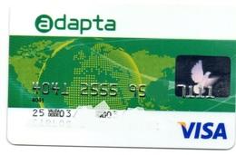 Bank Spain Credit Card BANCO CETELEM Visa - Electron - Master Card - Tarjeta De Credito - Cartes De Crédit (expiration Min. 10 Ans)
