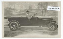SURREALISME -Sables D'Olonne -  Carte-photo Montage D'une Voiture Ancienne Décapotable - Cartes Postales