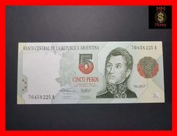 ARGENTINA 5 Pesos Convertibles 1993 P. 341 B  UNC - Argentina