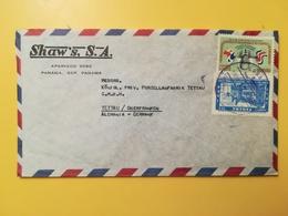 1964 BUSTA INTESTATA PANAMA BOLLO AIR MAIL BODAS DE ORO REUNION PRESIDENTIAL ANNULLO OBLITERE' PANAMA - Panama