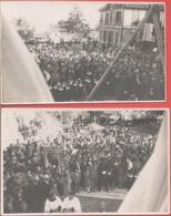 2 Cartoline Inaugurazione Chiesa Cristo Re (IM). 1934. Originale - Cartes Postales
