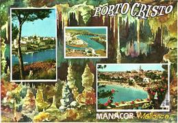 Spain:Mallorca Island, Porto Cristo, Cave, Views - Cartes Postales