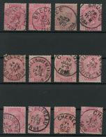 Lot 390A  Samenstelling Cirkelstempels Gemeenten B En C  W.o. Luxe Exemplaren! - Postmark Collection