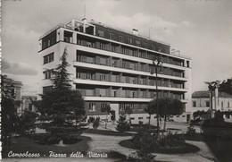 Cartolina - Postcard /  Viaggiata - Sent /  Campobasso, Piazza Della Vittoria.  ( Gran Formato ) - Campobasso