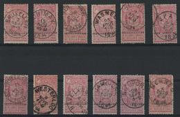 Lot 390A  Samenstelling Cirkelstempels Diverse Gemeenten - Postmark Collection