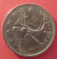 Canada 25 Cents 1975 - Canada