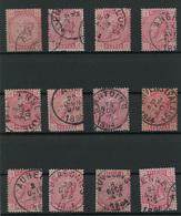 Lot 390A  Samenstelling Cirkelstempels Gemeenten Met A  W.o. Luxe Exemplaren - Postmark Collection