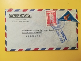 1965 BUSTA INTESTATA PANAMA BOLLO AIR MAIL MEMORES SPAZIO SPACES ANNULLO OBLITERE' PANAMA - Panama