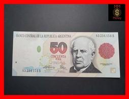 ARGENTINA 50 Pesos Convertibles 1993 P. 344 B Serie B  XF - Argentine