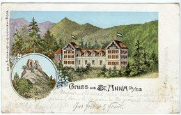CPA 68 - Soultz Sulz St Anne Gruss Aus St Anna Hotel Paysage - Soultz