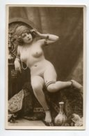 NU French Charm 026 Jean  AGELOU JA Série 61  Modèle FERNANDE  Nue  Orientalisme Bijoux  EROTISME - Fine Nudes (adults < 1960)