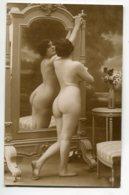 NU French Charm 036 Jean  AGELOU JA Série 96 Jeune Femme Nue Se Regardan Au Miroir Fesses  EROTISME - Fine Nudes (adults < 1960)