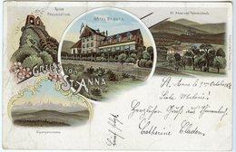 CPA 68 - Soultz Sulz St Anne Gruss Von St Anna Hotel Paysage Panorama Vers 1898 - Soultz