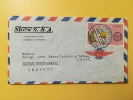 1966 BUSTA INTESTATA PANAMA BOLLO AIR MAIL ANNIVERSARY CAMERA COMMERCIO ANNULLO OBLITERE' PANAMA - Panama