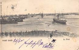 Egypt Egypte  Port Said Le Port 26 / 6/ 1905 Anno 1905    M 3178 - Port Said