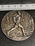 Médaille Belgique, R. D. C. B. 1895-1925 100m 1er - Other