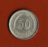 FINLANDE / 50 PENNIÄ / 1921 - Finland