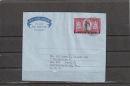 Bahrain AEROGRAMME To USA 1955 - Bahrain (...-1965)