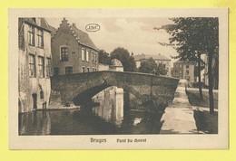 * Brugge - Bruges (West Vlaanderen) * (J.D.C. - Julien De Clercq) Pont Du Cheval, Paarden Brug, Bridge, Reien, Quai - Brugge