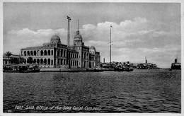 Egypt Egypte  Port Said   Office Of The Suez Compagny  M 3190 - Port Said