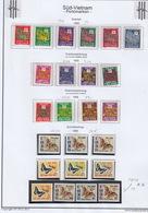 Vietnam 1952, 1955, 1956, 1968 Portomarken - Vietnam