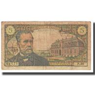 France, 5 Francs, Pasteur, 1966, R.Tondu-P.Gargam-H.Morant, 1966-09-01, TB - 1962-1997 ''Francs''