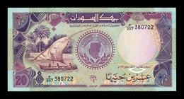 Sudan 20 Pounds 1991 Pick 47 SC UNC - Soudan