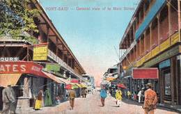 Egypt Egypte  Port Said General View Of The Main Street   Anno 1918      M 3202 - Port Said