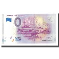 Belgique, Billet Touristique - 0 Euro, Belgium - Hasselt - Jardin Japonais De - België