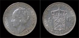 Netherlands Wilhelmina I 1 Gulden 1939 - [ 3] 1815-… : Reino De Países Bajos
