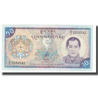 Billet, Bhoutan, 10 Ngultrum, KM:22, NEUF - Bhutan