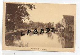CPA - 71 - FONTAINES - Le Canal - Pas Courante - Altri Comuni