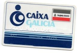 OLD ANCIENT Bank Spain Credit Card  CAIXA GALICIA  Visa - Electron - Master Card - Tarjeta De Credito - Cartes De Crédit (expiration Min. 10 Ans)