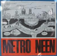 AFFICHE STAD GENT DOOR BUTH  - METRO NEEN   - ZIE BESCHRIJF EN AFBEELDIGEN - Posters