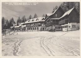 VIGILJOC-GIOGO DI SAN VIGILIO-BOZEN-BOLZANO-DICITURA BILINGUE AL VERSO-CARTOLINA VERA FOTOGRAFIA- VIAGGIATA IL 74-1-1953 - Bolzano (Bozen)