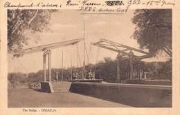 Egypt Egypte  Ismailia The Bridge   Anno 1918   !!!        M 3216 - Ismailia