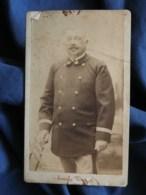 Photo CDV Emile Tiger à Boulogne Sur Mer - Lieutenant Des Douanes, Circa 1880 L503C - Old (before 1900)