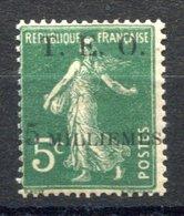 RC 17619 SYRIE COTE 40€  N° 5 SEMEUSE SURCHARGÉ TIRAGE 9000ex NEUF * MH TB - Syria (1919-1945)