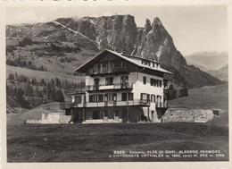 ALPE DI SIUSI-TRENTO-ALBERGO PENSIONE HOTEL=URTHALER=-CARTOLINA VERA FOTOGRAFIA NON VIAGGIATA ANNO 1950-1958 - Trento