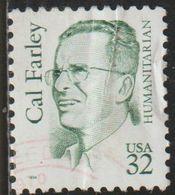 USA 1996 Scott 2934 Sello º Cal Farley Humanista Estados Unidos United States Yvert 2487 Michel 2704 Stamps Timbre - Vereinigte Staaten